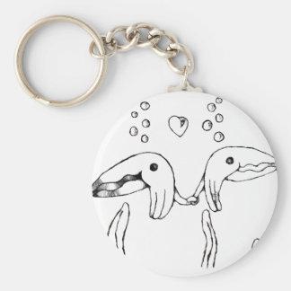 cuddle fish key ring