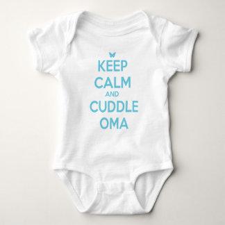 CUDDLE OMA BABY BODYSUIT
