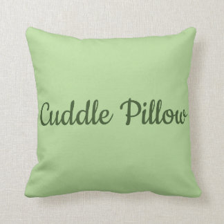 """Cuddle Pillow"" Throw Pillow"