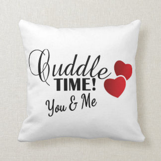 Cuddle Time for You & Me Throw Pillow