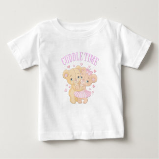 Cuddle time teddy Bears Baby T-Shirt