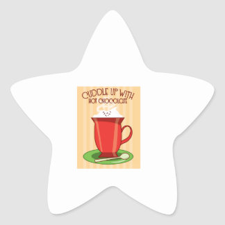 Cuddle Up With Hot Chocolate Stickers