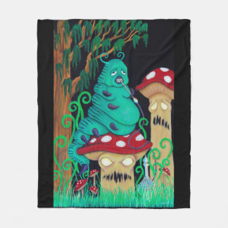 Cuddle with the Catterpillar Fleece Blanket