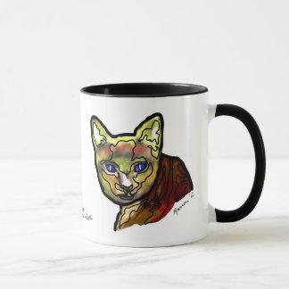 Cuddles Cat Mug