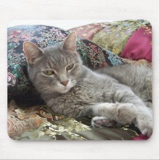 Cuddles on pillow mousepad