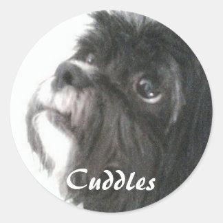 Cuddles Sticker