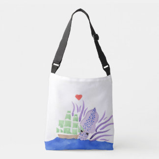 Cuddles the Kraken Body Bag Tote Bag