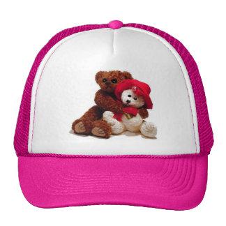 Cuddling bears cap