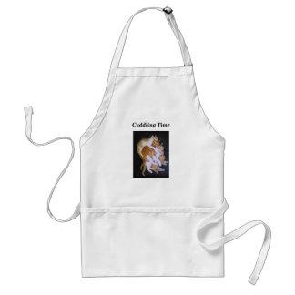 cuddling cats standard apron