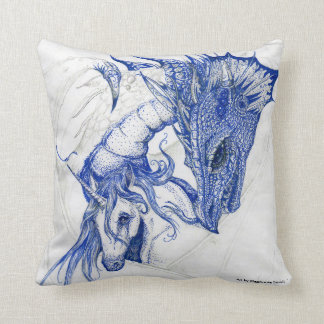 Cuddling Unicorn and Dragon Cushion