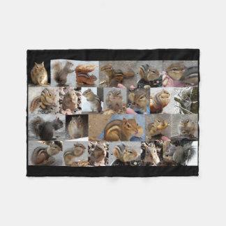 Cuddly Critters Fleece Blanket