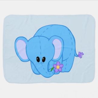 Cuddly Elephant Friend Blanket