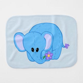 Cuddly Elephant Friend Burp Cloth
