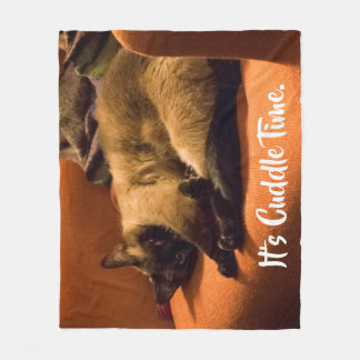Cuddly Kitty Fleece Blanket