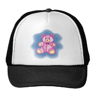 Cuddly Pink Teddy Bear Hat