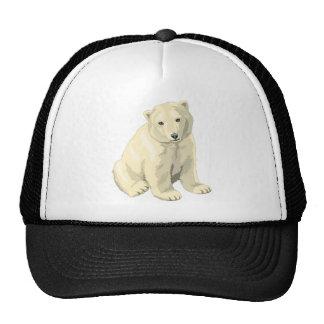 Cuddly  Polar Bear Cap