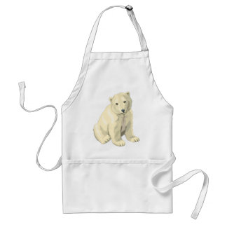 Cuddly  Polar Bear Standard Apron