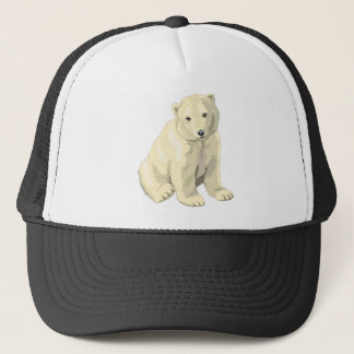 Cuddly  Polar Bear Trucker Hat