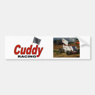 Cuddy Racing Bumper Sticker