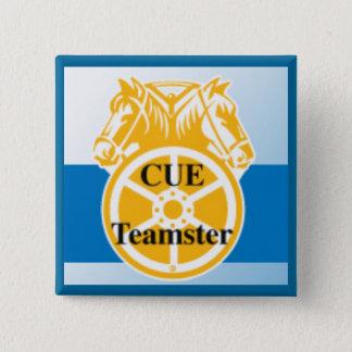 CUE Teamster 15 Cm Square Badge