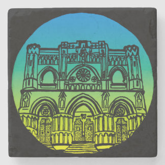 Cuenca Cathedral Stone Coaster