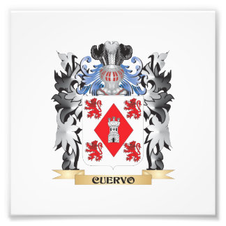 Cuervo Coat of Arms - Family Crest Photo Art