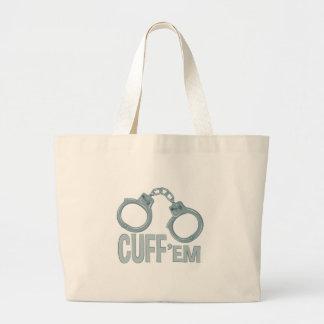 Cuff Em Large Tote Bag