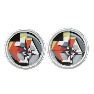 Cufflinks - silver plated - TMoM 1