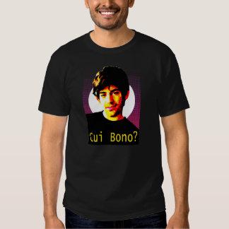 Cui Bono : RIP Aaron Swartz Tee Shirt