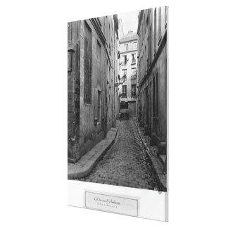 Cul-de-sac Saint-Ambroise Canvas Print