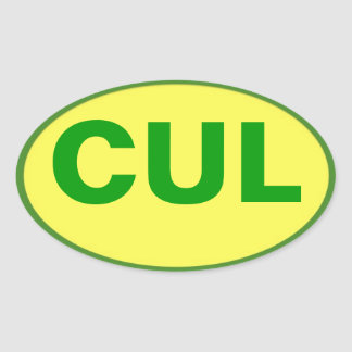 CUL sticker - Culebra Colors!