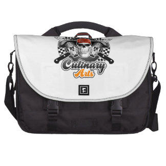 Culinary Arts Laptop Messenger Bag