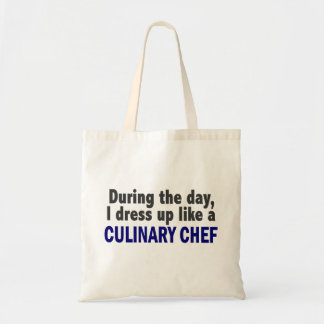 Culinary Chef During The Day Canvas Bag