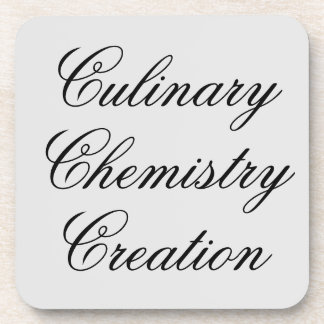 Culinary Chemistry Creation Coaster