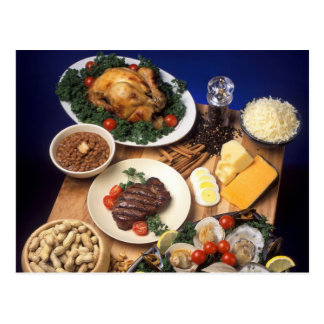 Culinary Cuisines Postcard