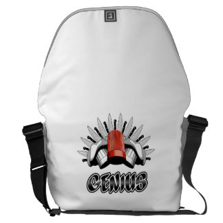 Culinary Genius: Chef Messenger Bag