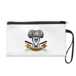 Culinary Genius: Chef Skull Wristlet Purse