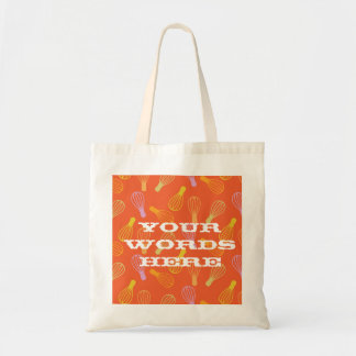 Culinary Illustration Budget Tote Bag