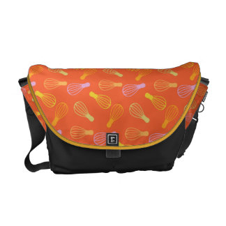 Culinary Illustration Courier Bag
