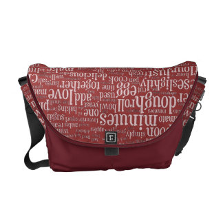 Culinary Terms Word Cloud 2 Rickshaw Bags Courier Bags