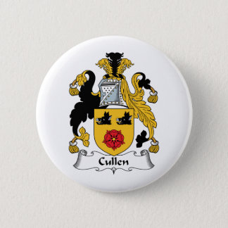 Cullen Family Crest 6 Cm Round Badge