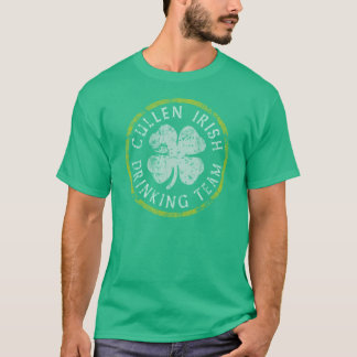 Cullen Irish Drinking Team t shirt