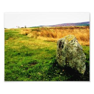 Culloden Moor Battlefield, Scotland Photo Art