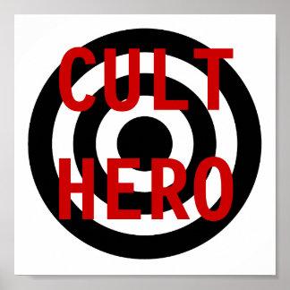 CULT HERO POSTER