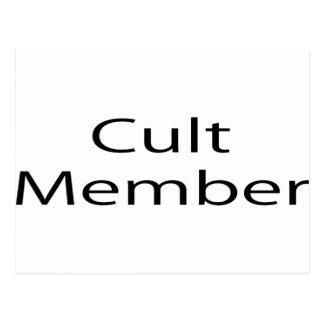Cult Member Postcard