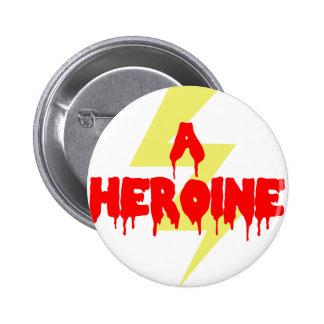 Cult Movie Heroine Button