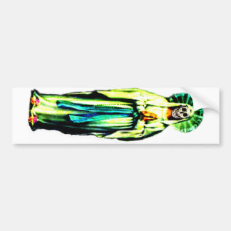Cult Of Santa Muerte Bumper Sticker