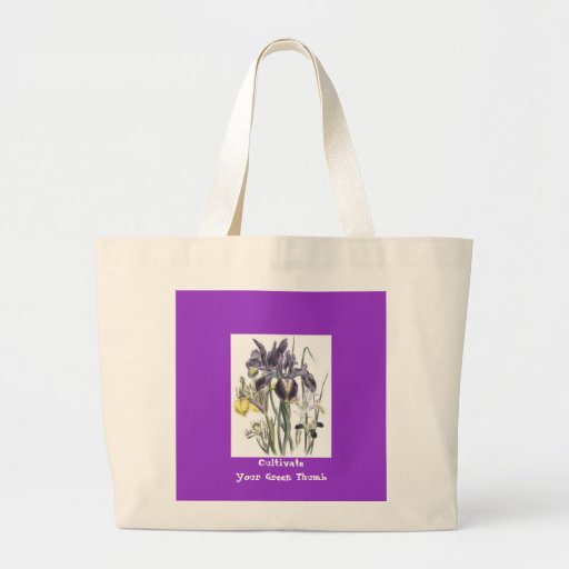 Cultivate Your Green Thumb Canvas Reusable Bag