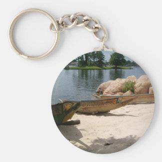 Cultural Canoe Key Chain