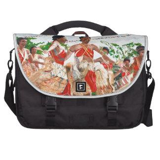 Cultural Dance in Papua New Guinea Laptop Commuter Bag